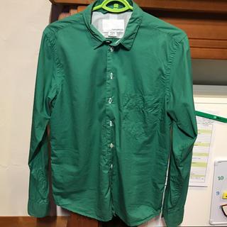 ナナミカ(nanamica)のnanamica ナナミカ 長袖シャツ グリーン 緑(シャツ)