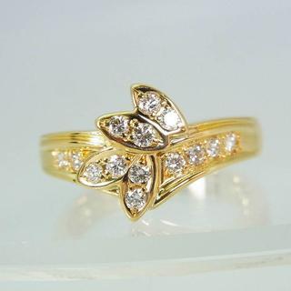ポーラ(POLA)のポーラ 750 ダイヤモンド リング 10.5号 [f338-8](リング(指輪))