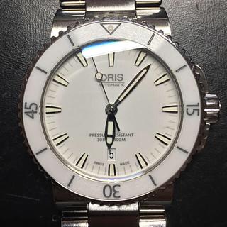 オリス(ORIS)の☆csyoon様専用☆ ORIS オリス アクイス 自動巻 メンズ ホワイト(腕時計(アナログ))