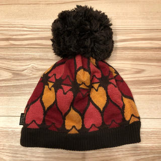パーリーゲイツ(PEARLY GATES)のパーリーゲイツ ニット帽 フリーサイズ(ニット帽/ビーニー)