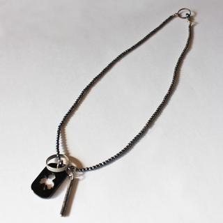 スリーブラインドマイス(THREE BLIND MICE)のTHREE BLIND MICE/スリーブラインドマイス 天然石ネックレス(ネックレス)