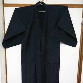 紳士物  羽織り  紬  古布  リメイク生地(着物)