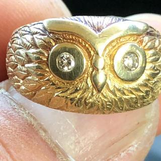 ダイヤ18金指輪(リング(指輪))
