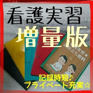 🤩超増量版🤩看護実習☆お役立ち資料(看護過程)(CDブック)