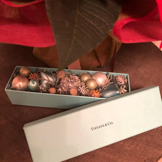 ティファニー(Tiffany & Co.)の11さま専用 TIFFANY & Co.   Boxクリスマス飾り(その他)