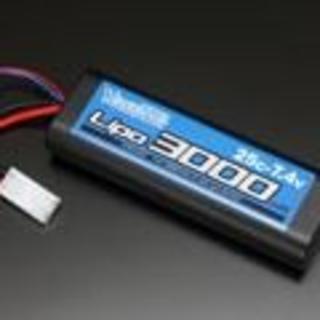 J12Y30-3000 yokomo 3000ma 7.4Vバッテリー(ホビーラジコン)