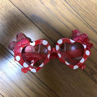 ディズニー(Disney)のディズニー ミニーちゃん サングラス ハート(サングラス/メガネ)