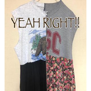 イェーライト(YEAH RIGHT!)のYEAH RIGHT!!*リメイクワンピース・ネックレス(ロングワンピース/マキシワンピース)