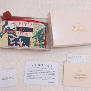 ヴィヴィアンウエストウッド(Vivienne Westwood)の小銭入れ付きキー牛革(キーケース)
