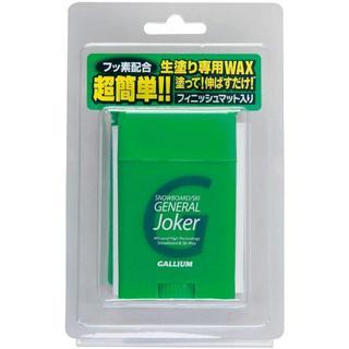 GALLIUM ガリウム スノーボード ワックス 生塗り GENERAL JOK(その他)