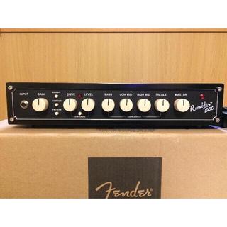 フェンダー(Fender)の【ほぼ新品】フェンダー Fender Rumble 500 HEAD(ベースアンプ)