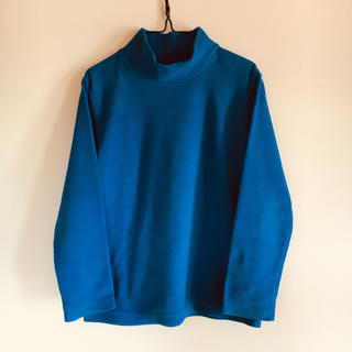ジーユー(GU)のgu  フリース  ブルー  130cm(Tシャツ/カットソー)