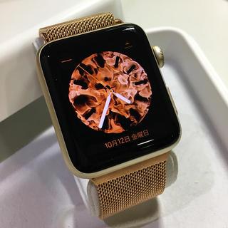 アップルウォッチ(Apple Watch)のほぼ未使用  Apple Watch series2  Gold(その他)