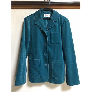 アイアイエムケー(iiMK)の値下げ⭐︎美品☆iiMKジャケット エメラルドグリーン(テーラードジャケット)