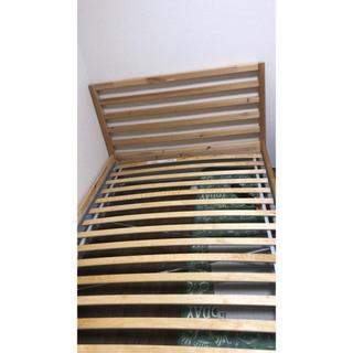 イケア(IKEA)のイケア セミダブル ベッド(セミダブルベッド)
