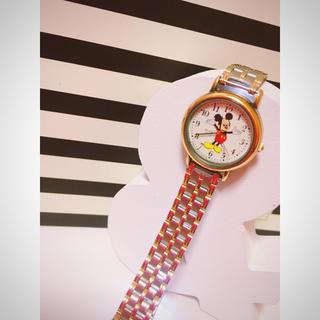 アルバ(ALBA)のALBA mickey レア ミッキー 腕時計 ウォッチ 中古 希少品♡(腕時計)