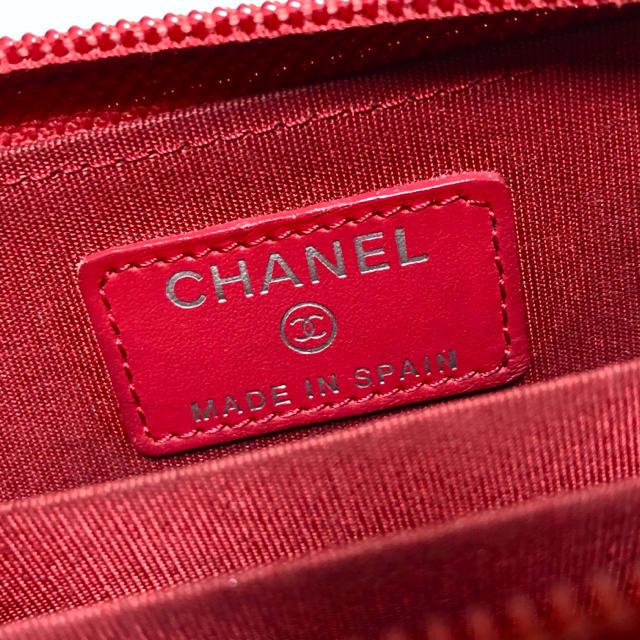 b6c94447c988 CHANEL - 【本物】439シャネル*キャビアスキンココマークCCミニ財布 ...