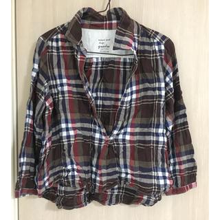 クアドロ(QUADRO)のクワドロのチェックシャツ(カットソー(長袖/七分))