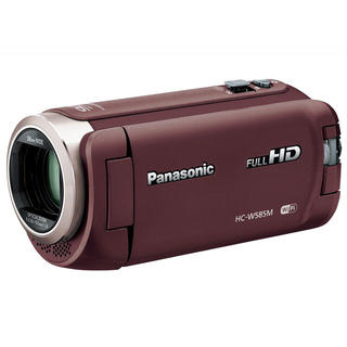 ★新品★ Panasonic HC-W585M ブラウン(ビデオカメラ)