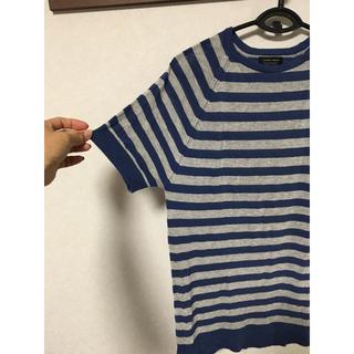 ザラ(ZARA)のサマーニット(Tシャツ/カットソー(半袖/袖なし))