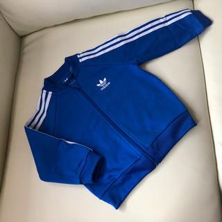 アディダス(adidas)のadidas originals ブルー ジャージ 80(ジャケット/コート)