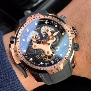 ウブロ(HUBLOT)の猿様専用 腕時計 HUBLOT   ウブロ メンズ 自動巻き 大人気 (ラバーベルト)