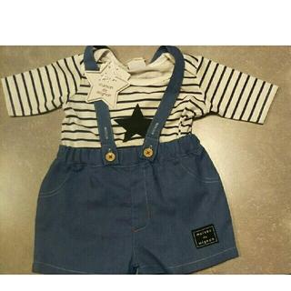 シマムラ(しまむら)のTシャツ&半ズボンつなぎセット(カバーオール)