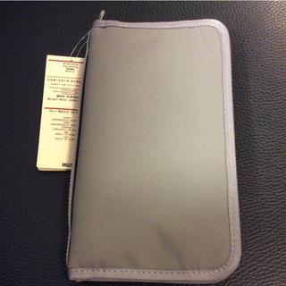 ムジルシリョウヒン(MUJI (無印良品))の無印良品 パスポートケース 送料無料!!(日用品/生活雑貨)