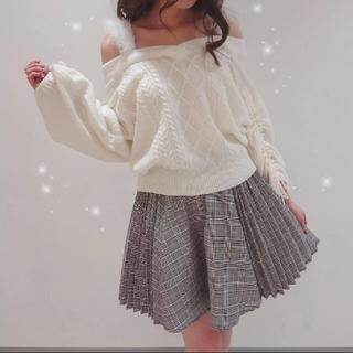リズリサ(LIZ LISA)の今季発売 LIZ LISA プリーツチェックスカパン (ミニスカート)