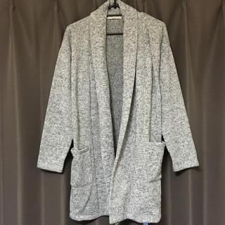 しまむら - ロングカーディガン グレー フリーサイズ chocol raffine robe