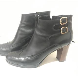アングローバルショップ(ANGLOBAL SHOP)のLUCA GROSSI 本革ショートブーツ(ブーツ)