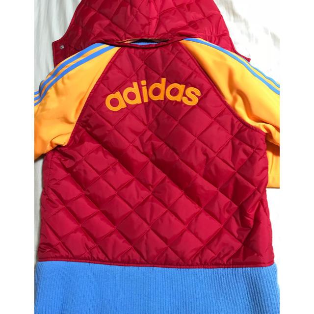 adidas(アディダス)の週末値下げ 美品 未使用 アディダス キルティング 中綿ジャケット レディースのジャケット/アウター(ダウンジャケット)の商品写真