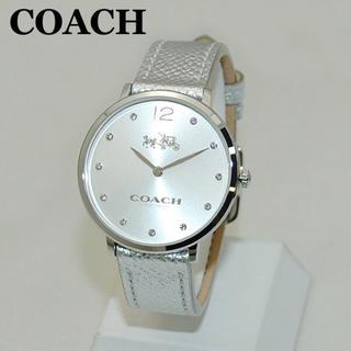 0a309da51e91 コーチ(COACH)の新品 コーチ レディース 腕時計 メタリックレザー 14502685(腕時計)
