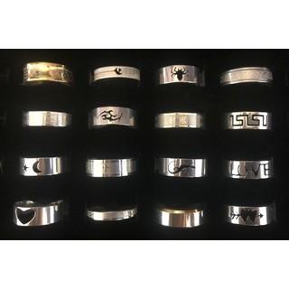 ◼️激安 期間限定◼️24号~26号 ステンレスリング まとめ売り 指輪 リング(リング(指輪))