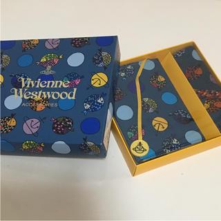 ヴィヴィアンウエストウッド(Vivienne Westwood)のヴィヴィアン ウエストウッド ブックカバー+ハンカチ 新品 箱入り(ハンカチ/ポケットチーフ)