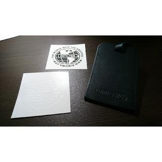 リモワ(RIMOWA)のRIMOWA  ステッカー(白黒)、ネームタグのセット(トラベルバッグ/スーツケース)