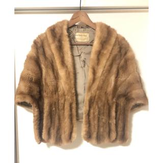 ビームス(BEAMS)のミンクファー ケープ 着物 ファーコート(毛皮/ファーコート)