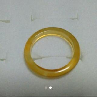 14.5号 左上1【数量限定  細い瑪瑙リング】 天然石メノウ リング(リング(指輪))
