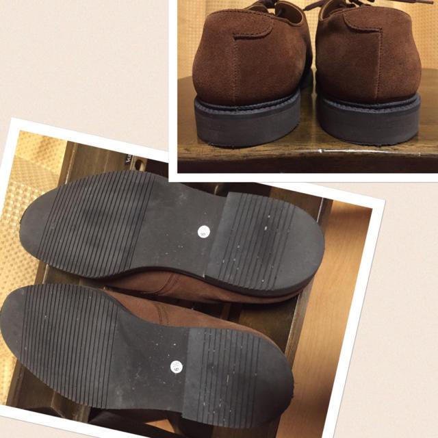 G.H.BASS(ジーエイチバス)の美品☆G.H.Bass☆スエードドレスシューズ☆レディース レディースの靴/シューズ(ローファー/革靴)の商品写真