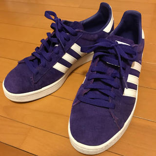 アディダス(adidas)のadidas アディダス スーパースター 紫(スニーカー)