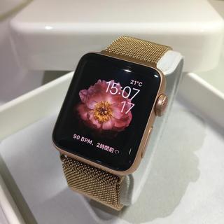 アップルウォッチ(Apple Watch)のApple Watch series3 GPS+Cellularモデル Gold(その他)