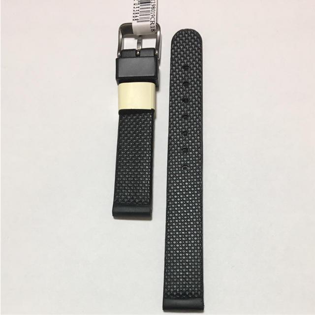 14a131796c MORELLATO(モレラート)のモレラート ケイマン 18mm ラバー 黒 防水 イタリアブランド 時計ベルト メンズ