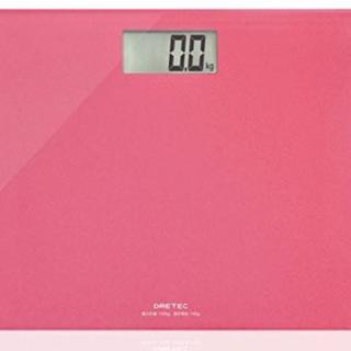 【バカ売れ!!】ドリテック 体重計 ボディスケール ピンク
