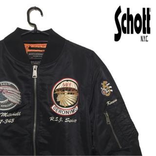 ショット(schott)のSchott MA-1 flight jacket(ミリタリージャケット)
