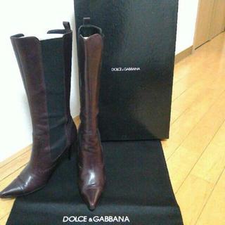 ドルチェアンドガッバーナ(DOLCE&GABBANA)のDOLCE&GABBANA ロングブーツ(ブーツ)
