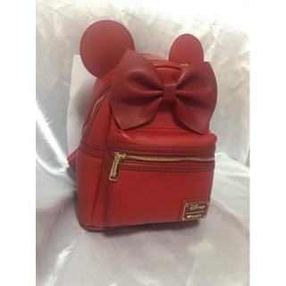 Disney - ラウンジフライ ミニー 赤 リュック ディズニー レッド