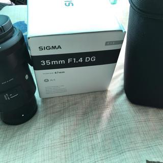 シグマ(SIGMA)のsigma 35mm art f1.4 ソニーeマウント用(レンズ(単焦点))