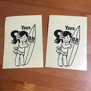 エイティーエイティーズ(88TEES)のyayaちゃんステッカー 2枚セット(その他)