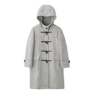 ジーユー(GU)のwool blend duffle coat♡Lsize(ダッフルコート)