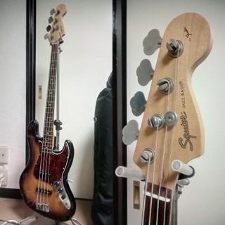 フェンダー(Fender)の【巣鴨駅手渡し可】Squier Jazz Bass スクワイヤ ジャズベース(エレキベース)